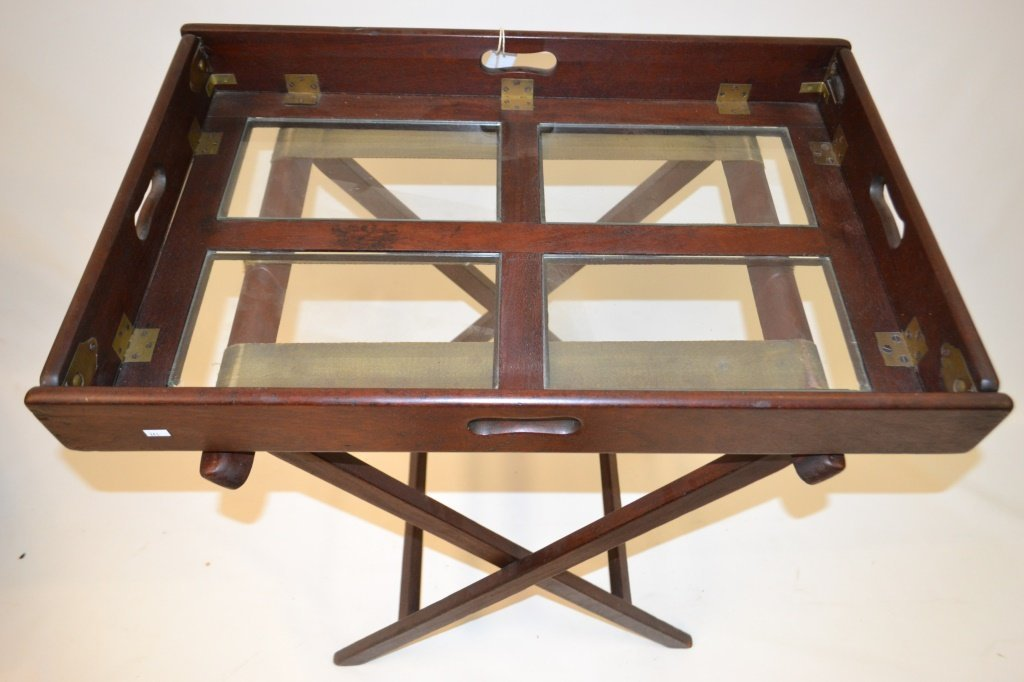 19th C /20th C  English Tray Table on Stand - 2