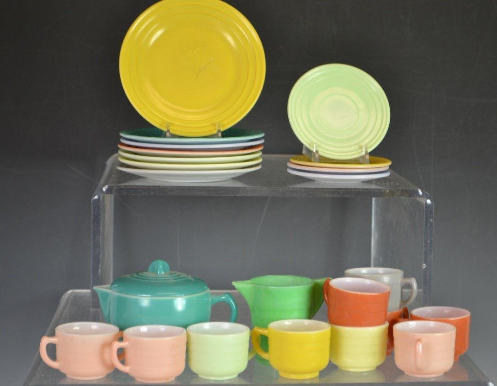Hazel Atlas Akro Agate Style Glassware