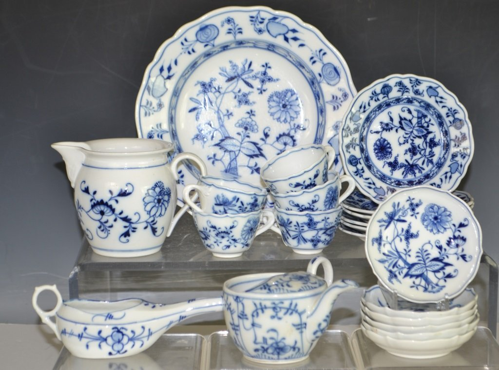 Grouping of Meissen  Germany Porcelain