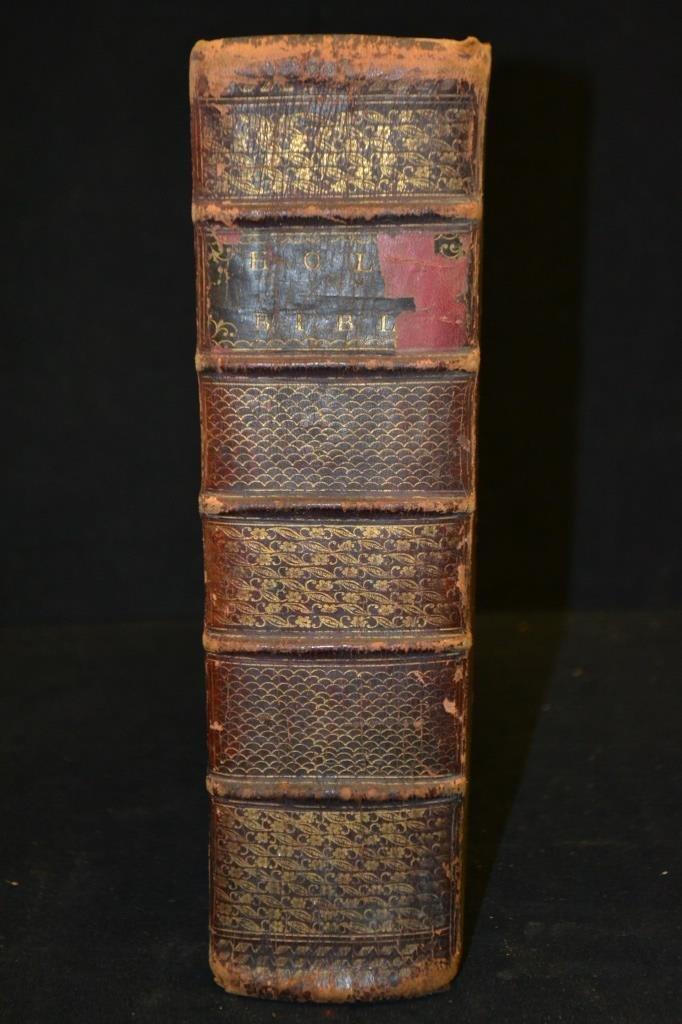 1791 Trenton NJ, The Holy Bible w/ Original Cover