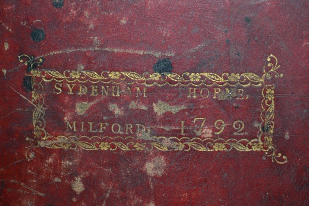 1791 Trenton NJ, The Holy Bible w/ Original Cover - 3