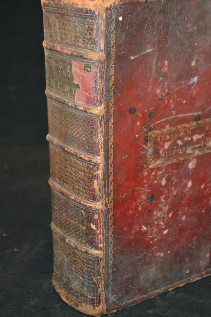 1791 Trenton NJ, The Holy Bible w/ Original Cover - 4