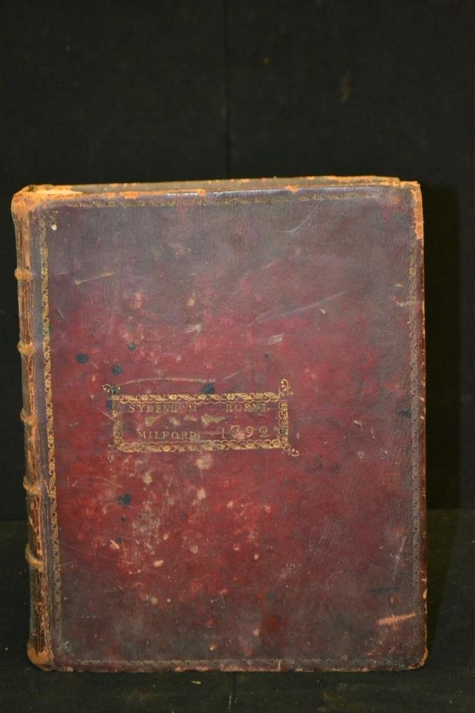 1791 Trenton NJ, The Holy Bible w/ Original Cover - 5