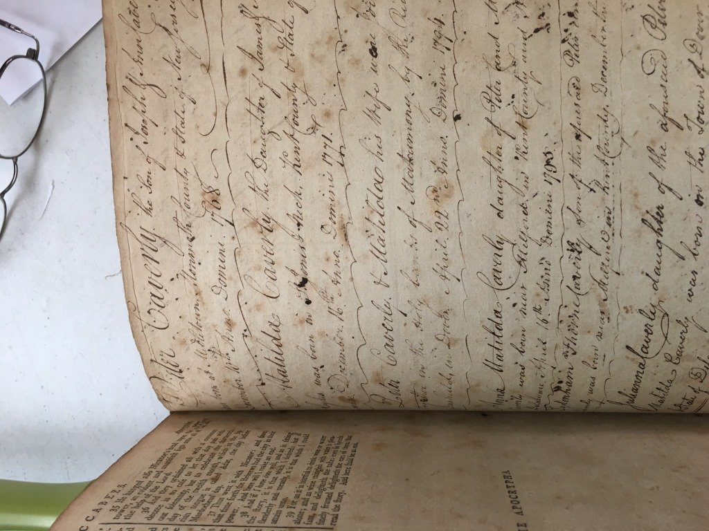 1791 Trenton NJ, The Holy Bible w/ Original Cover - 6