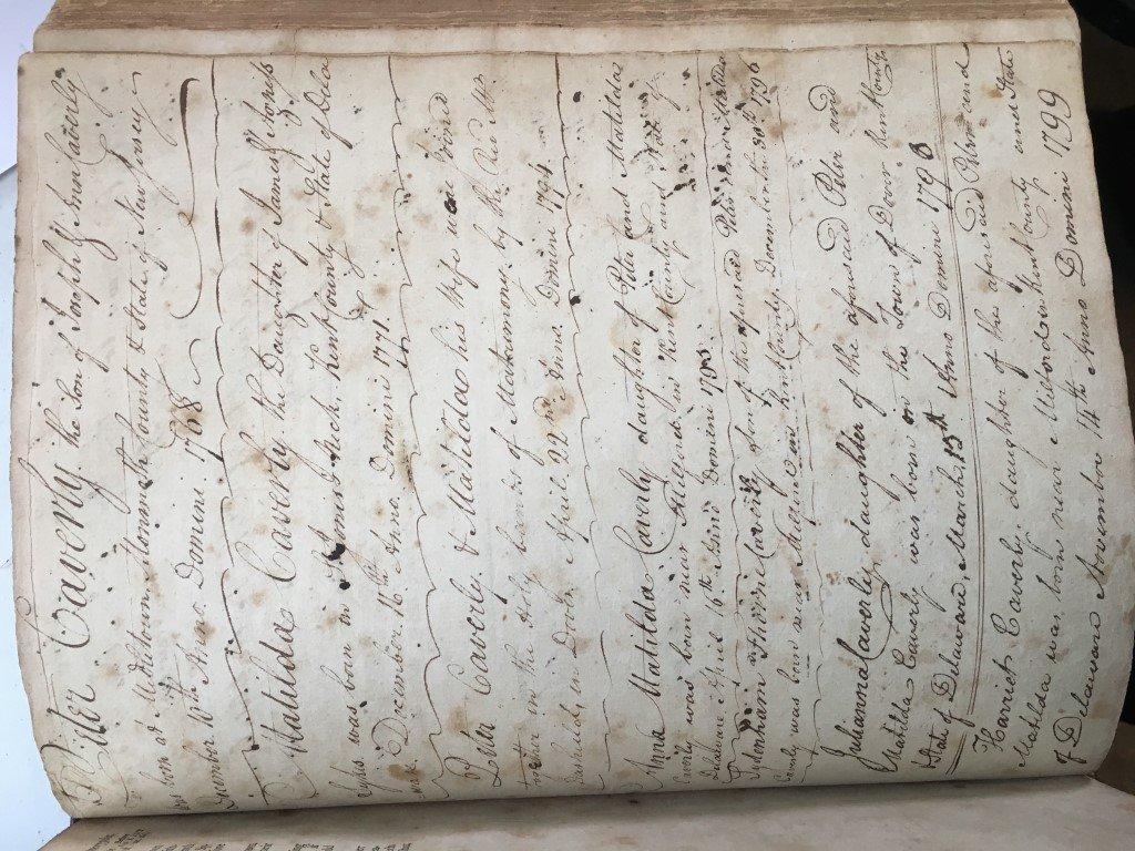 1791 Trenton NJ, The Holy Bible w/ Original Cover - 7