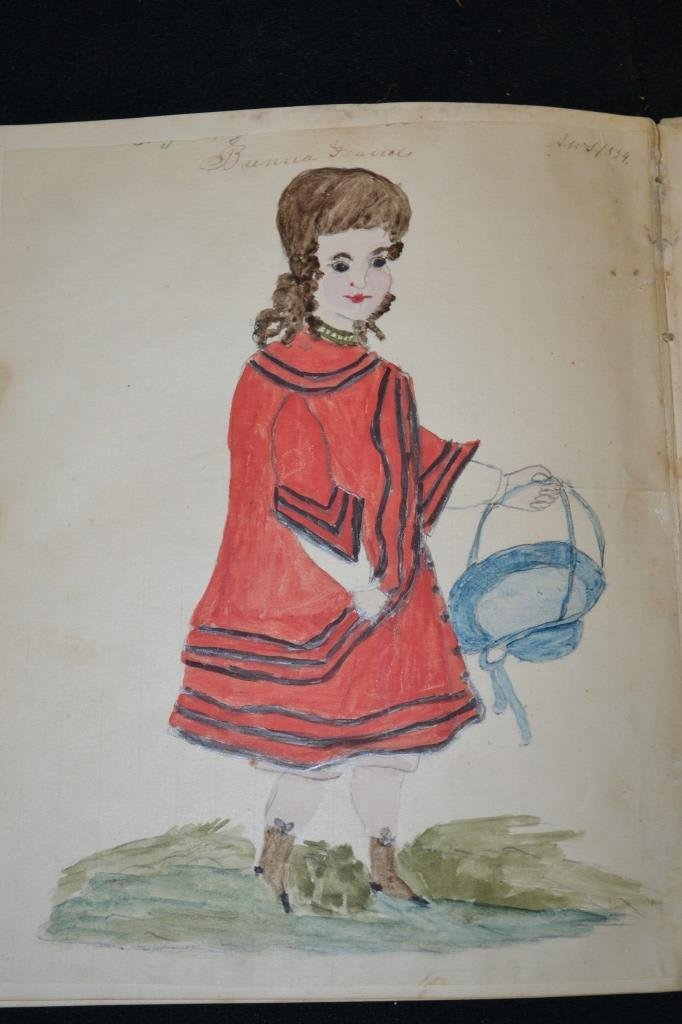 19th Century Eulogy and Folk Art of a Young Girl - 6