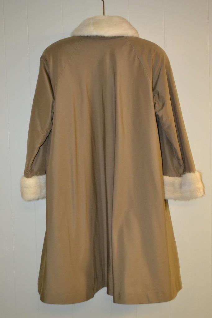 3/4 Length Mink Fur Coat size X Lg - 2
