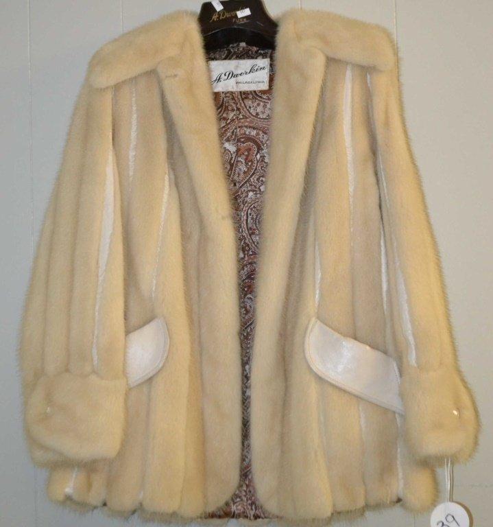 Mink Fur Coat size M