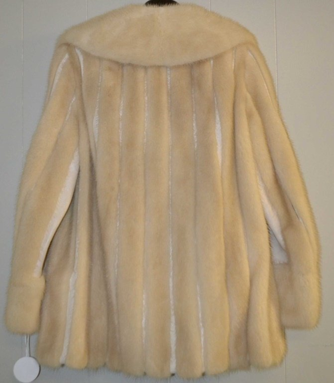 Mink Fur Coat size M - 2
