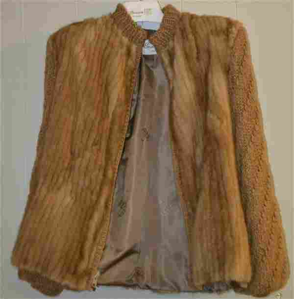 Mink and Knitted Fur Coat