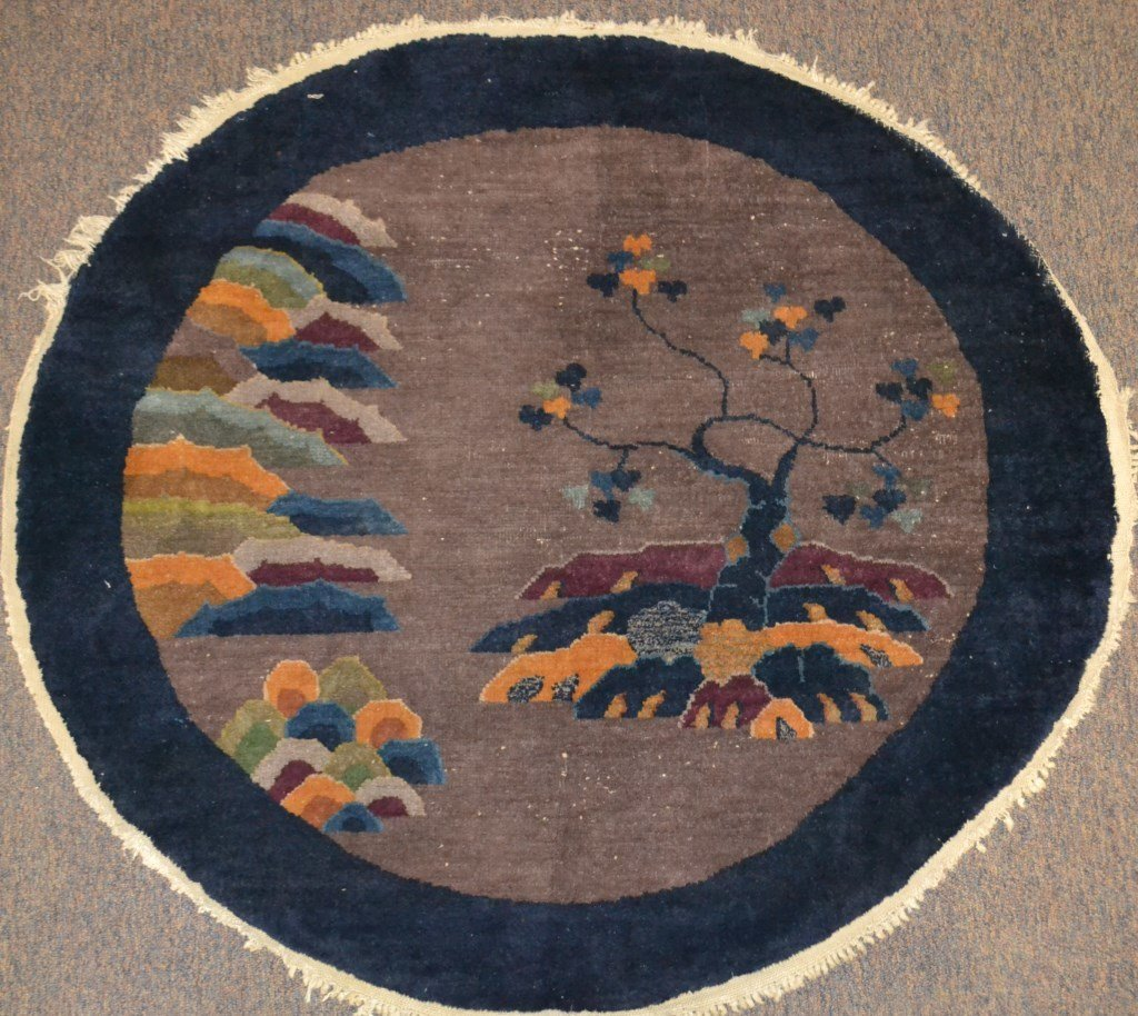 1930's Round Rug