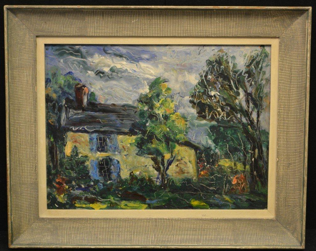Original Oil on Board by Mary Bradley 20th C