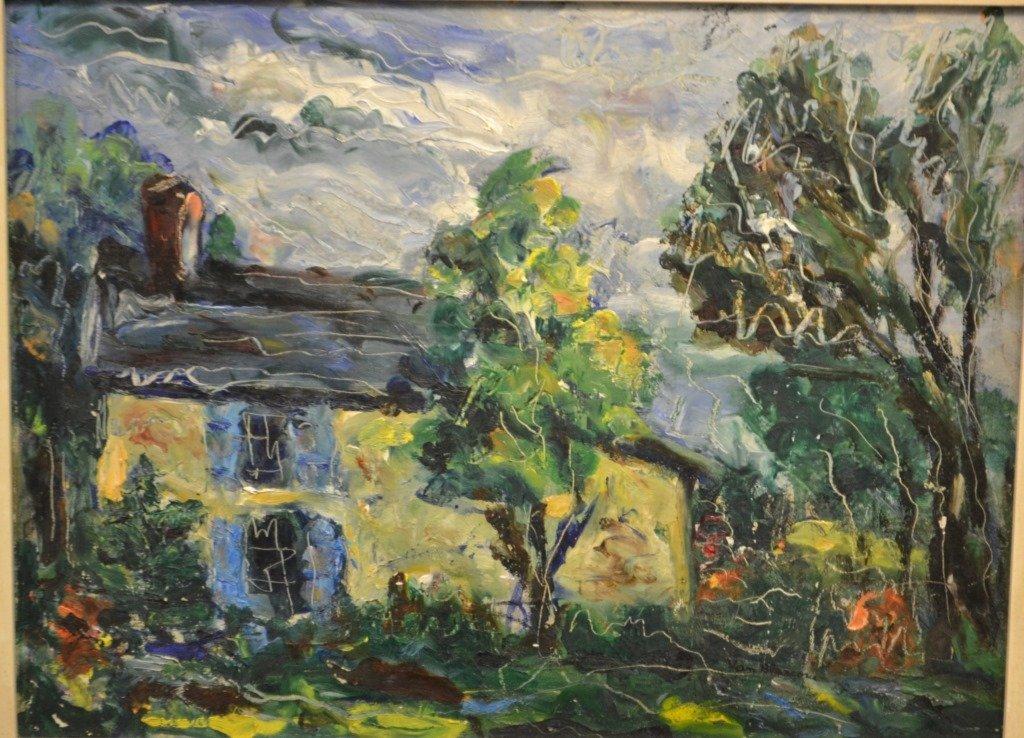 Original Oil on Board by Mary Bradley 20th C - 2