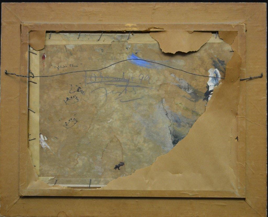 Original Oil on Board by Mary Bradley 20th C - 4