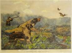 Currier and Ives American Field Sports