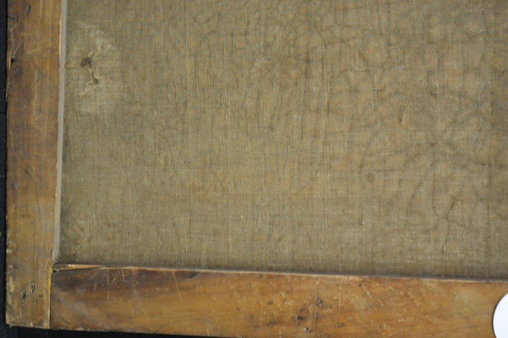 19thC European Oil on Canvas - 2
