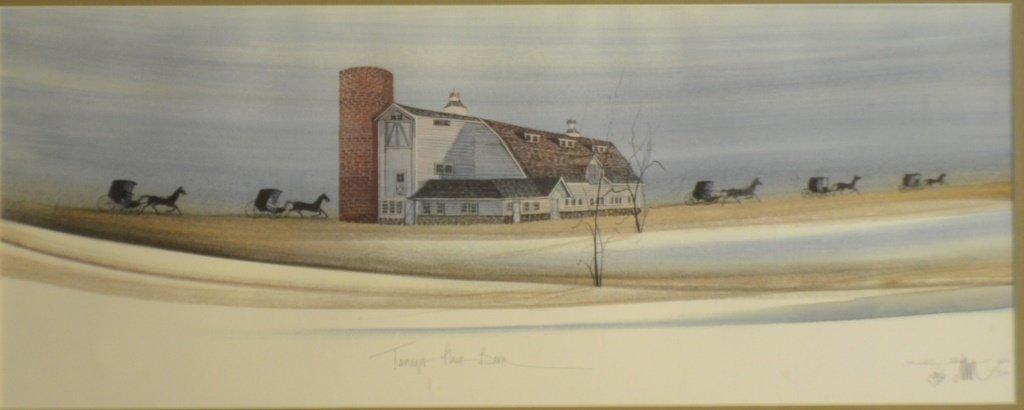 P .Buckley Moss (American, b. 1933) signed