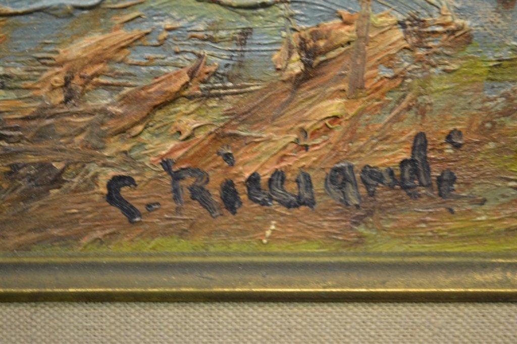 Cesare Ricciardi (1892 - 1973) Landscape Oil - 2