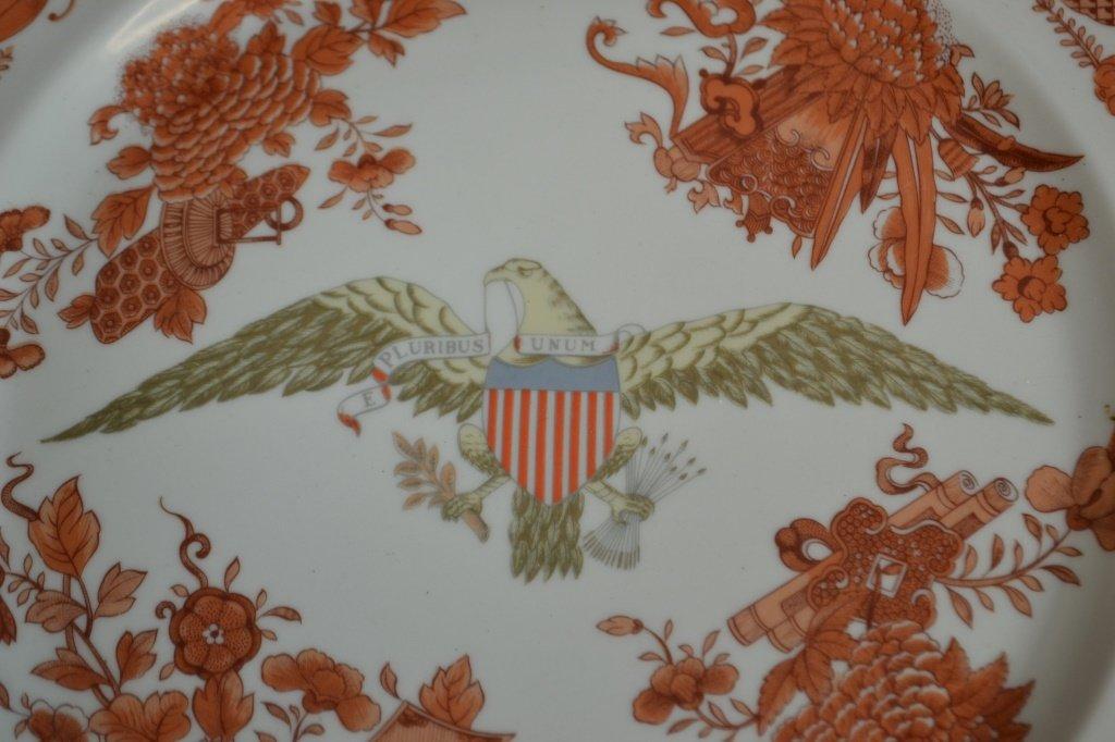 "Mottahedeh Orange Fitzhugh 10"" Plate - 2"