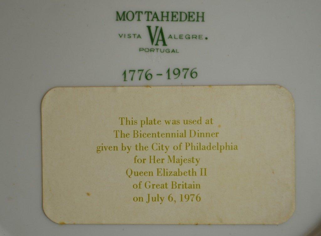 "Mottahedeh Orange Fitzhugh 10"" Plate - 3"