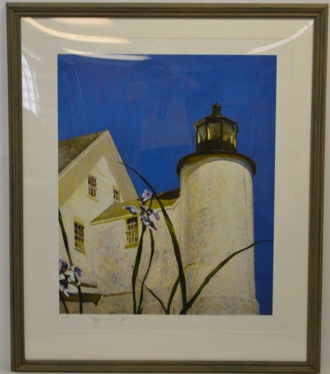 Jamie Wyeth (B 1946 American) Very Large Signed