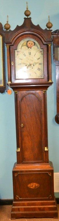 19th C English Tall Case Clock