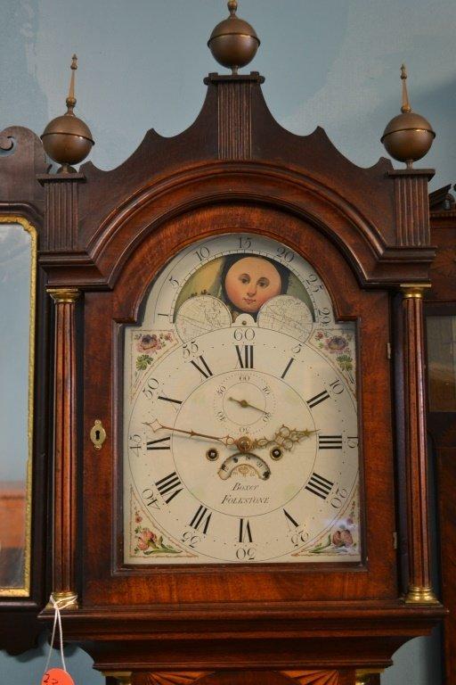 19th C English Tall Case Clock - 2