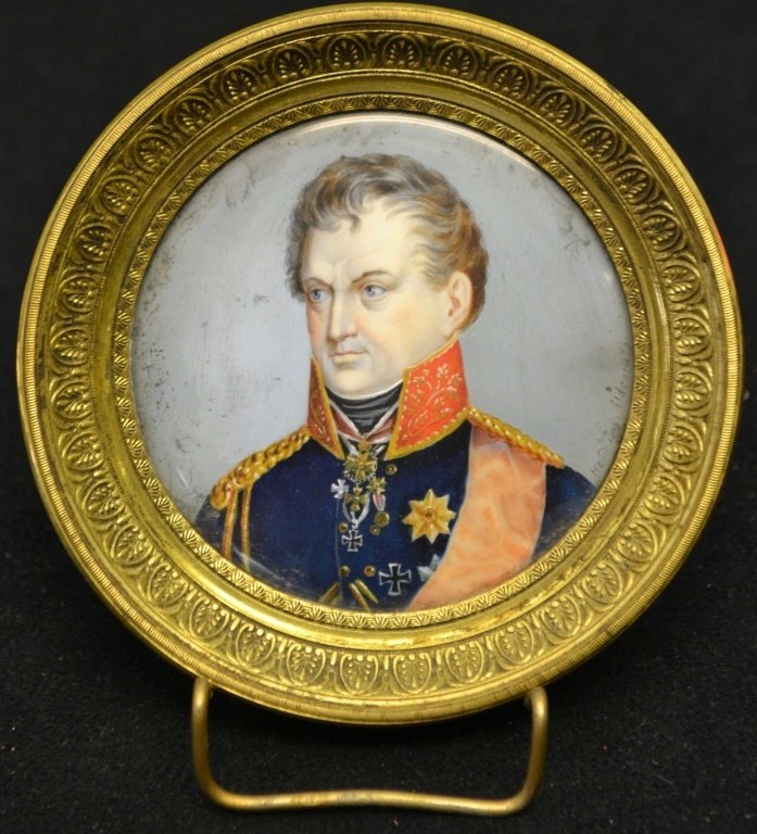 Watercolor on Ivory Frederick William IV - Prussia
