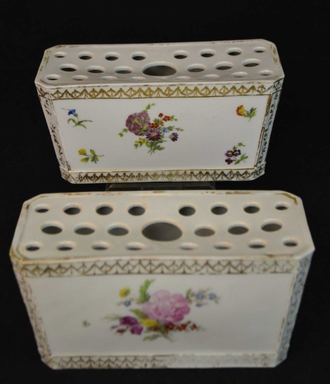 Pair of Royal Copenhagen Boughpots Circa 1860