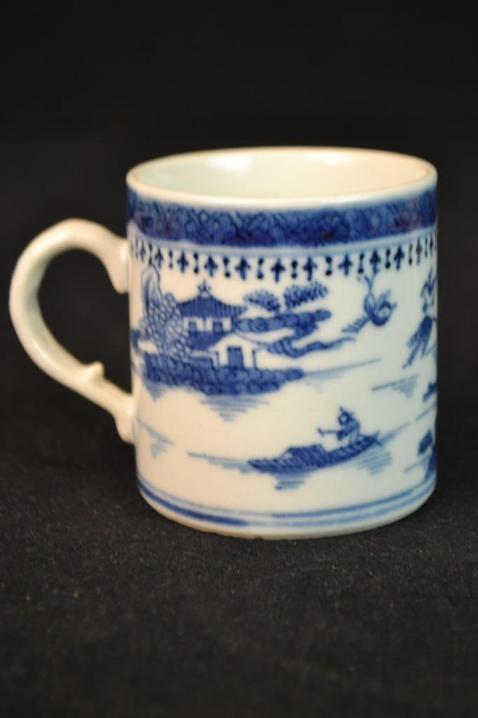 3 Chinese Ceramic Cups in Various Styles - 2
