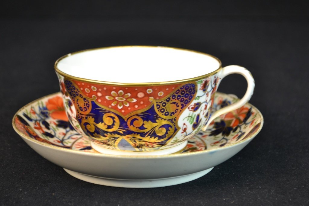 Oversized Darby Cup and Saucer Imari Pattern 1820
