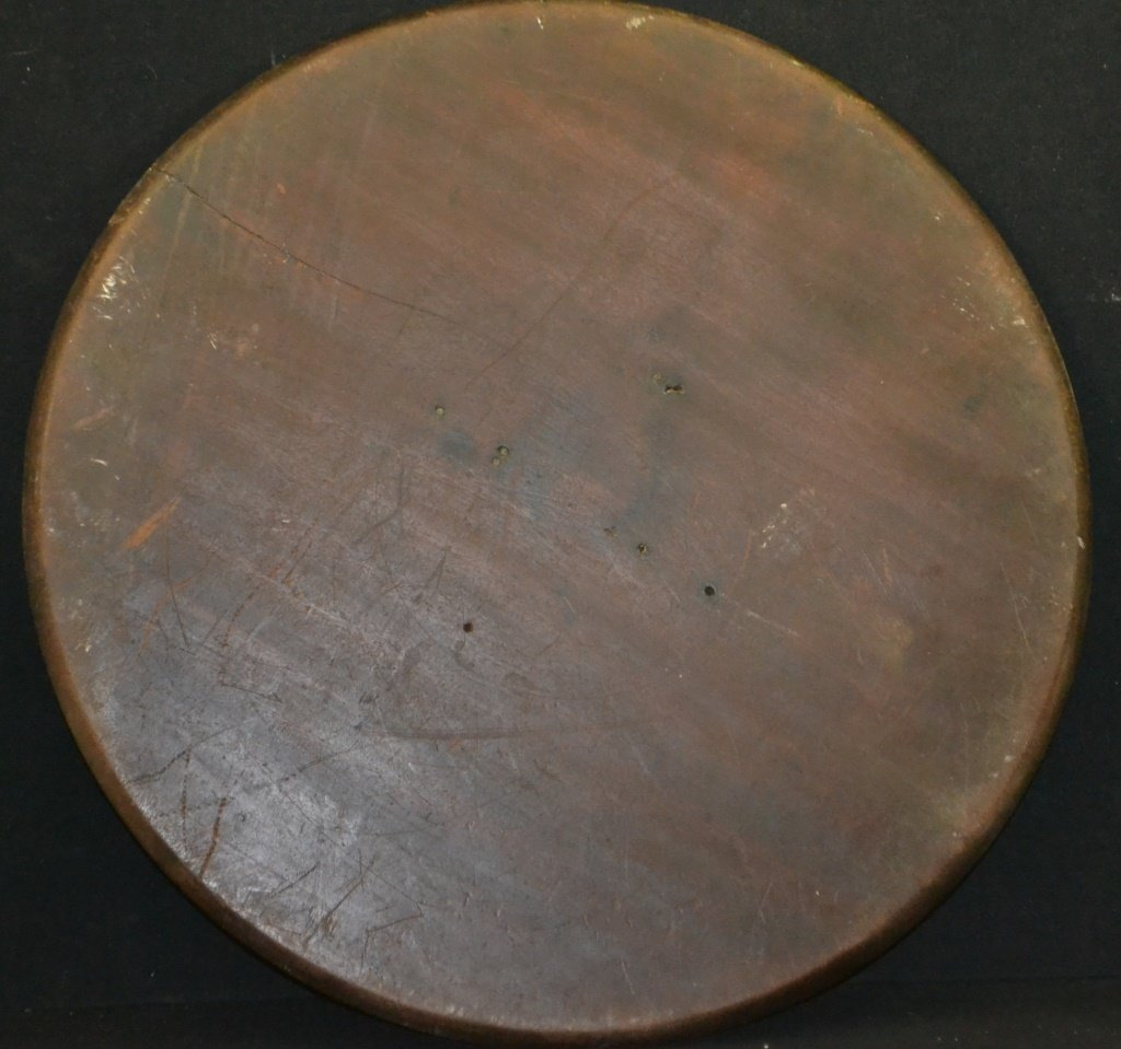 American Mahogany Dish Top For Candle Stand