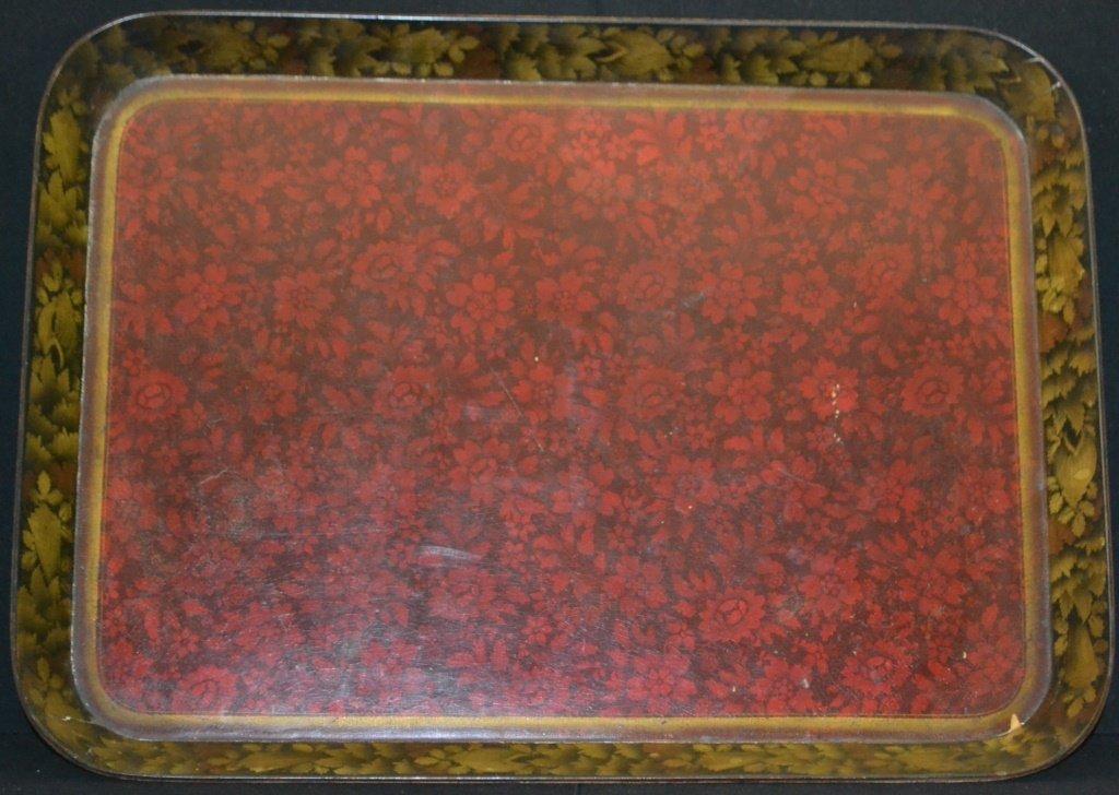 English Regency Paper Mache Tea Tray