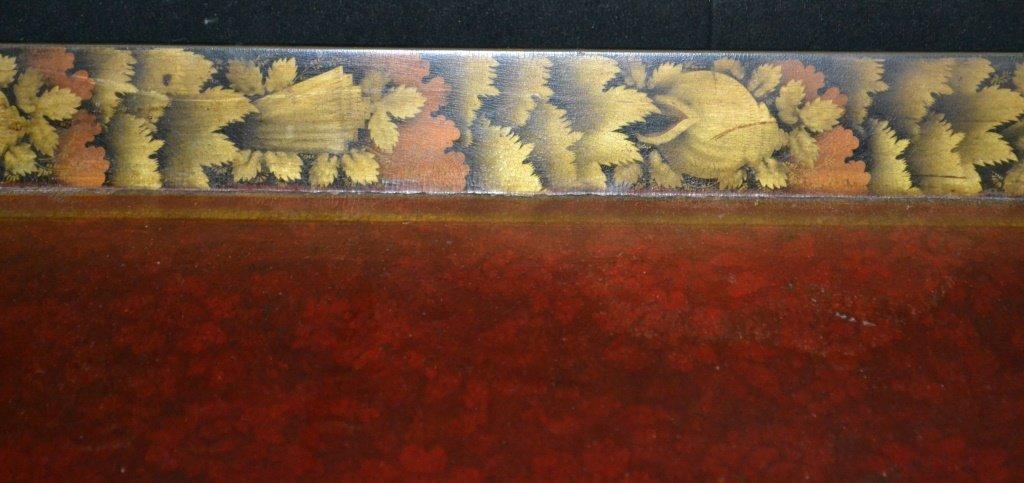 English Regency Paper Mache Tea Tray - 4