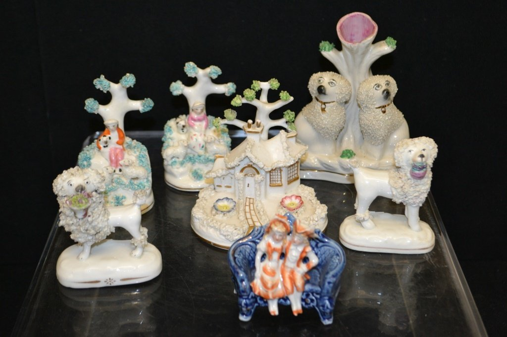 Collection Of Rockingham Figures