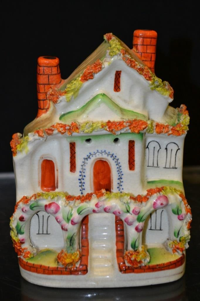 Collection of Three Mid 19thC Staffordshire Houses - 4