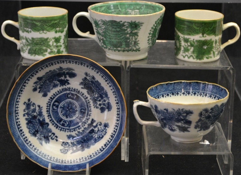Collection Of Early 19thC Chinese Export Fitz Hugh - 3