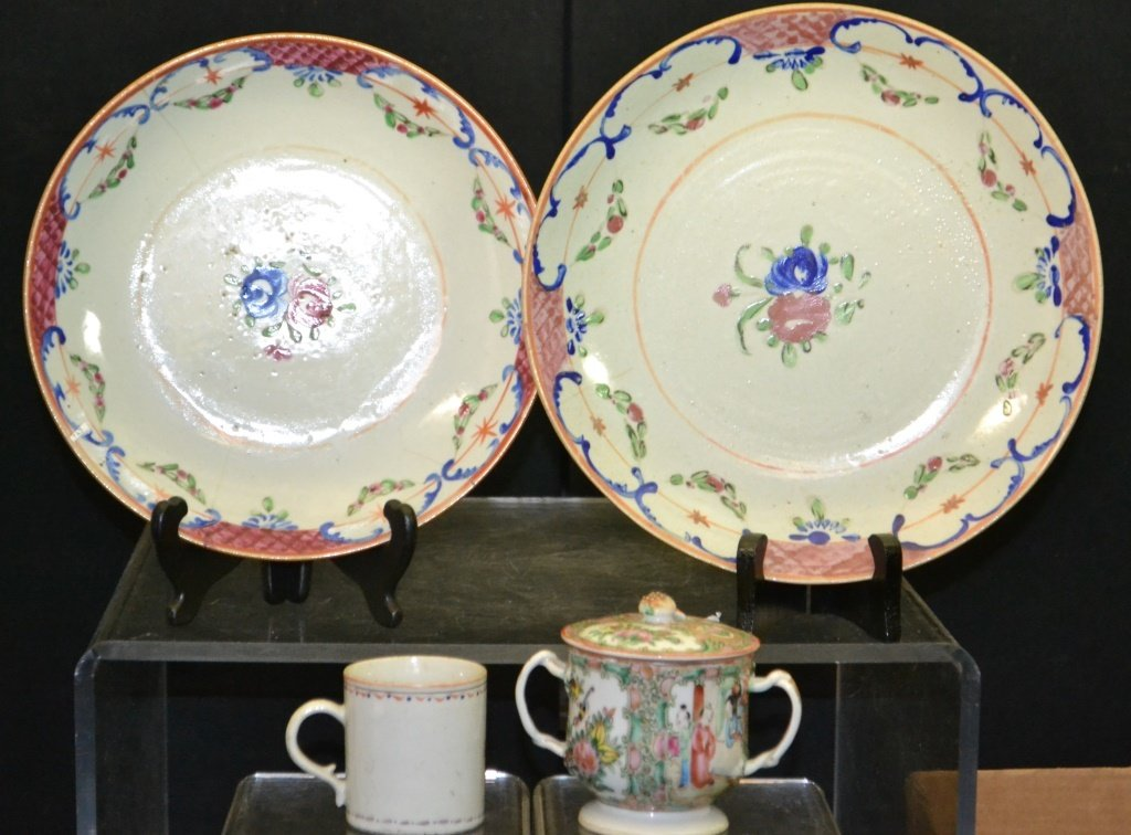 Grouping Of 19thC Chinese Export Porcelain