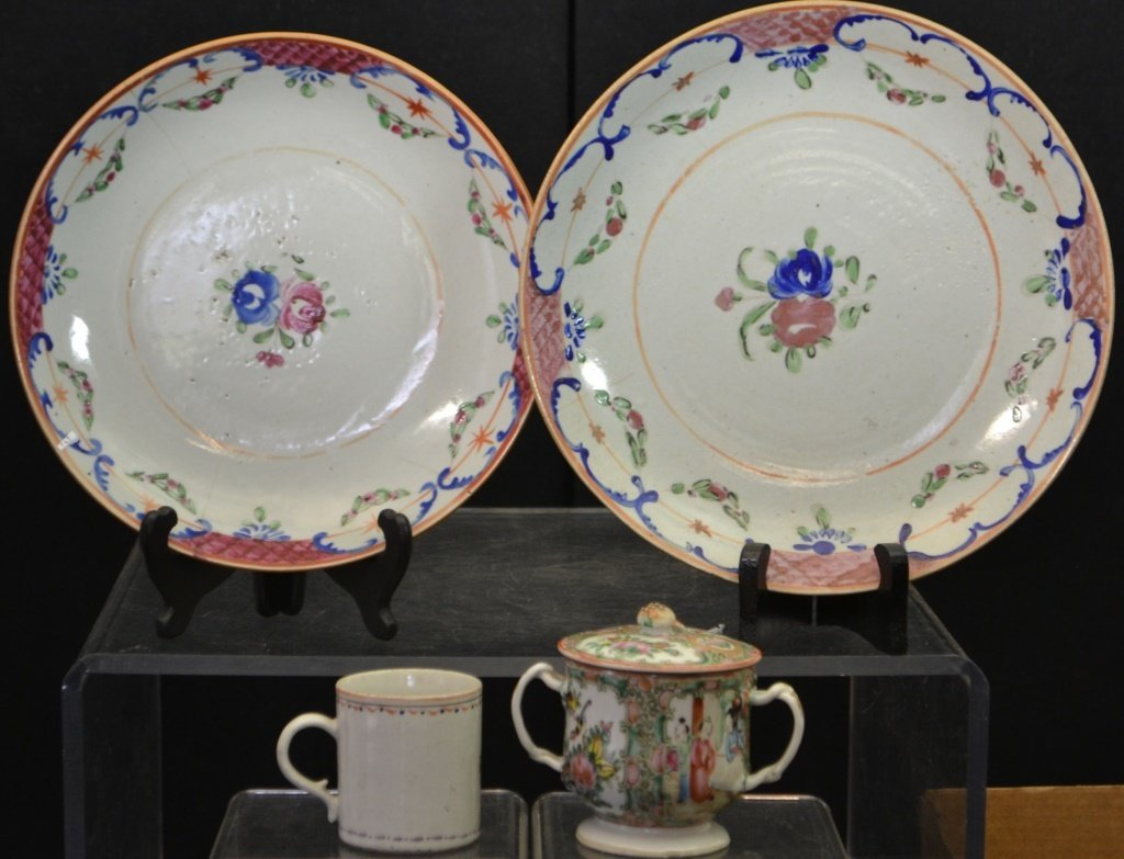 Grouping Of 19thC Chinese Export Porcelain - 2