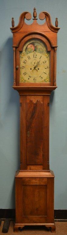 Jacob Diehl Tall Case Clock Reading, PA ca.1800