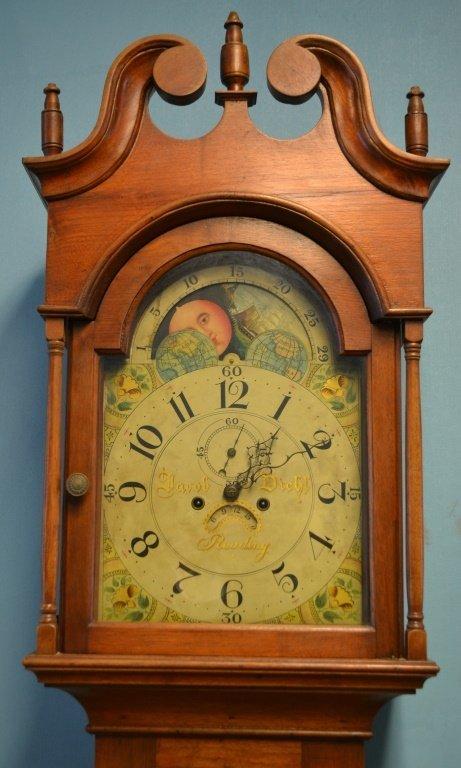 Jacob Diehl Tall Case Clock Reading, PA ca.1800 - 2