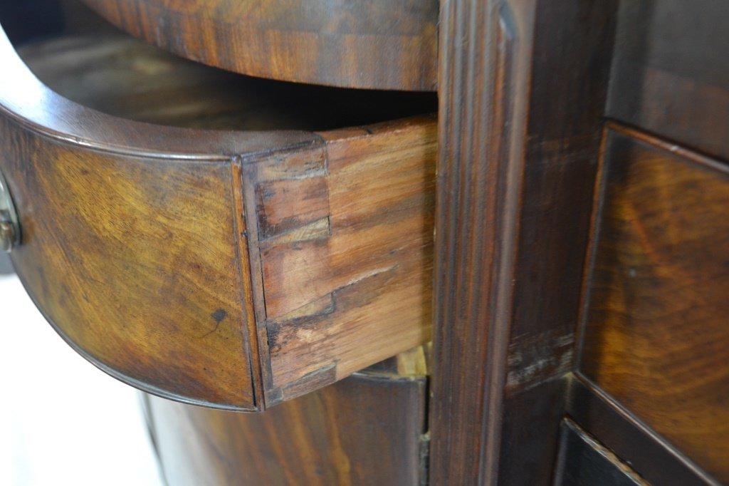 19th C Sheraton Figural Mahogany Sideboard - 4