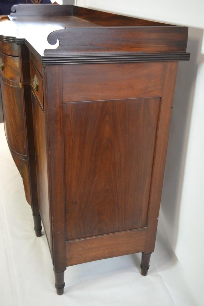 19th C Sheraton Figural Mahogany Sideboard - 6