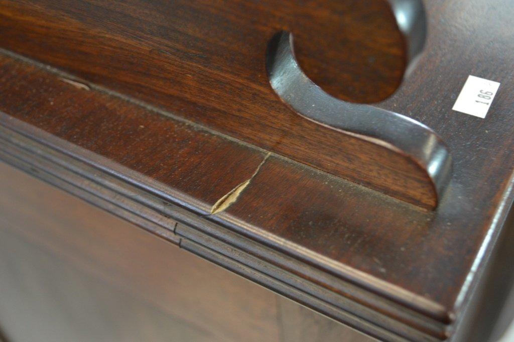 19th C Sheraton Figural Mahogany Sideboard - 7