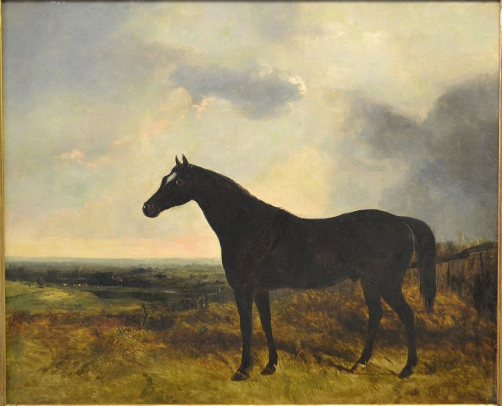 George Cole (1810 - 1883) Oil on Canvas