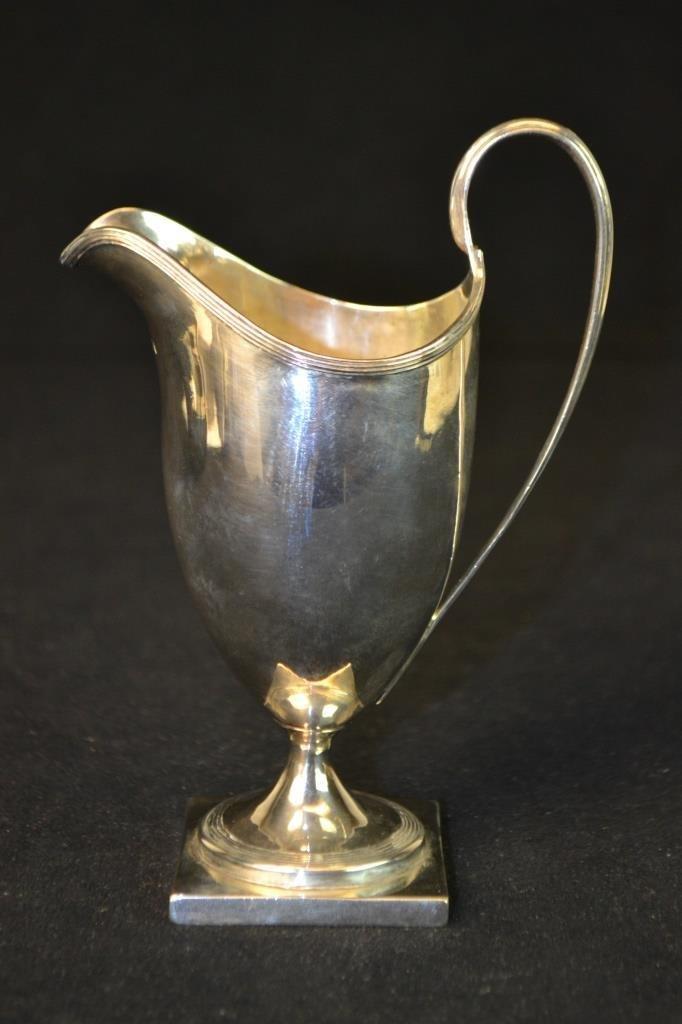 18th C London Sterling Silver Creamer