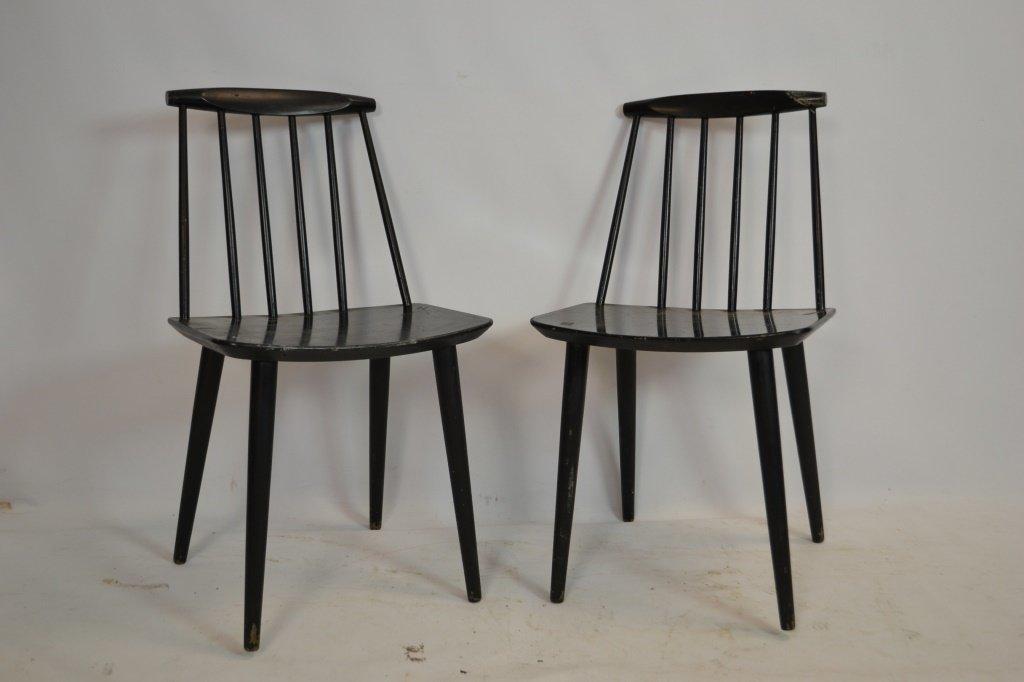 Pair of Folke Palsson Chair, Mid-Century Modern