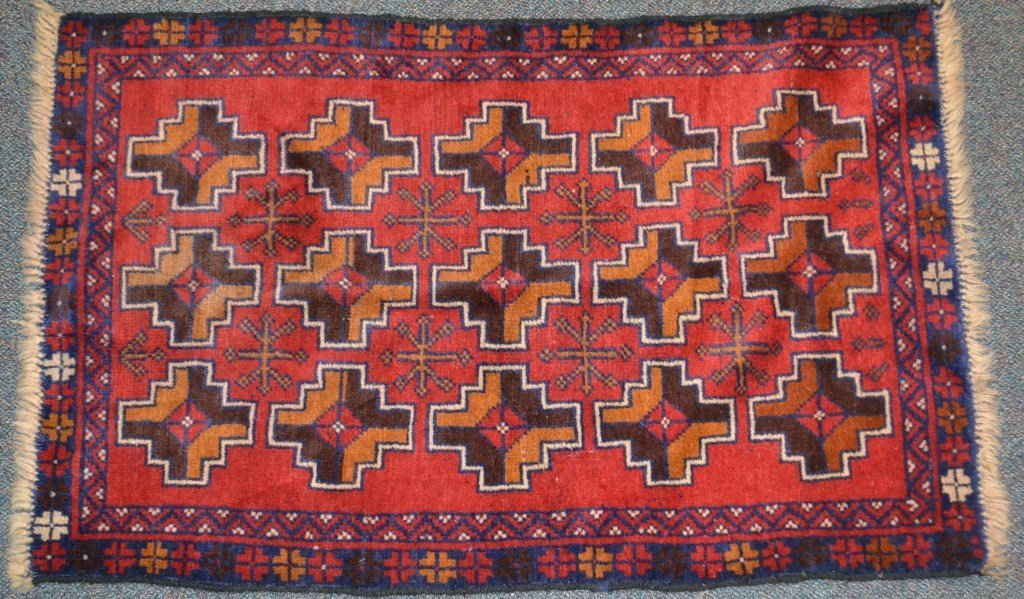 Early 20th C Persian rug