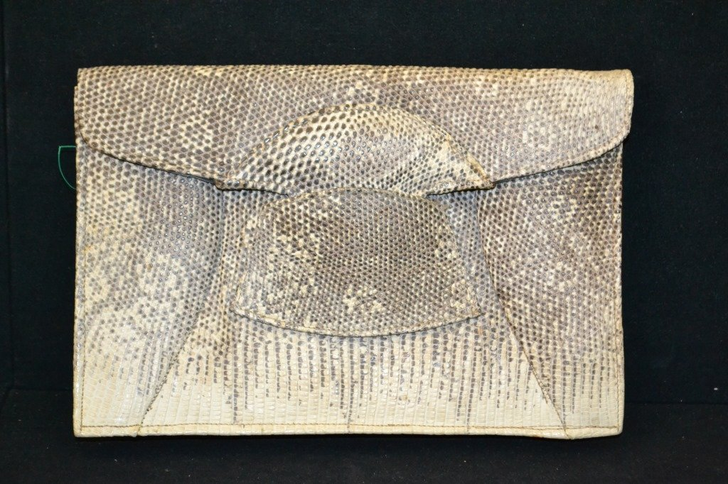 Vintage Possible Snake Skin Purse