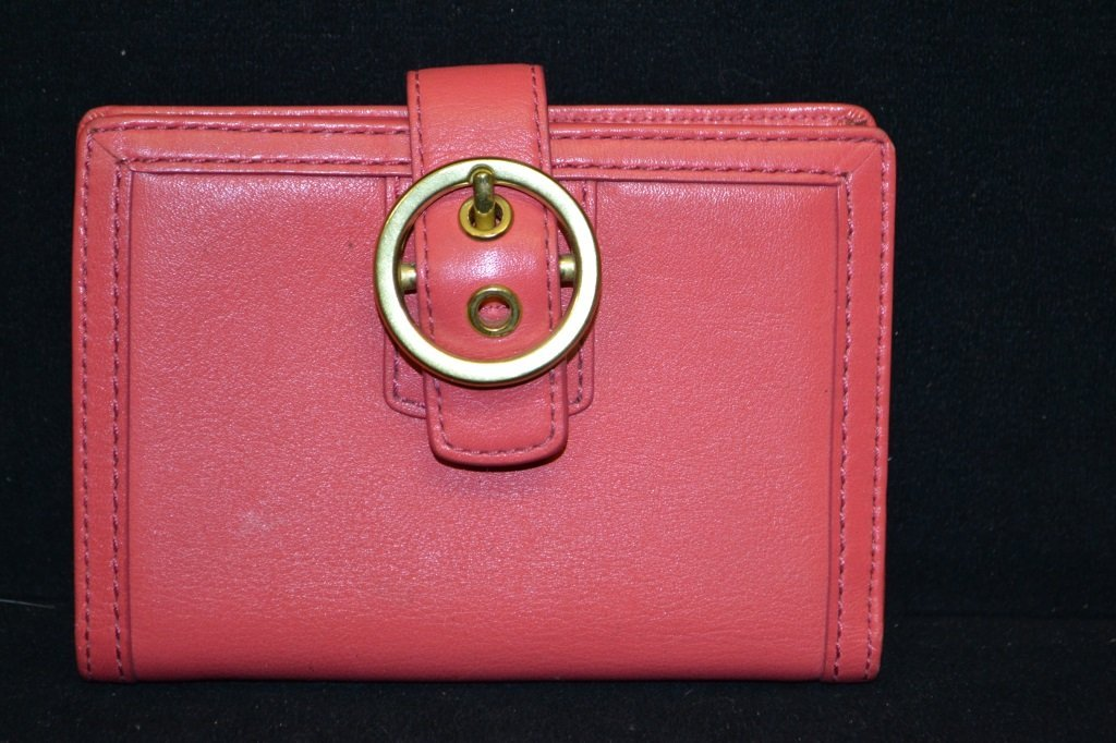 Pink Coach Wallet